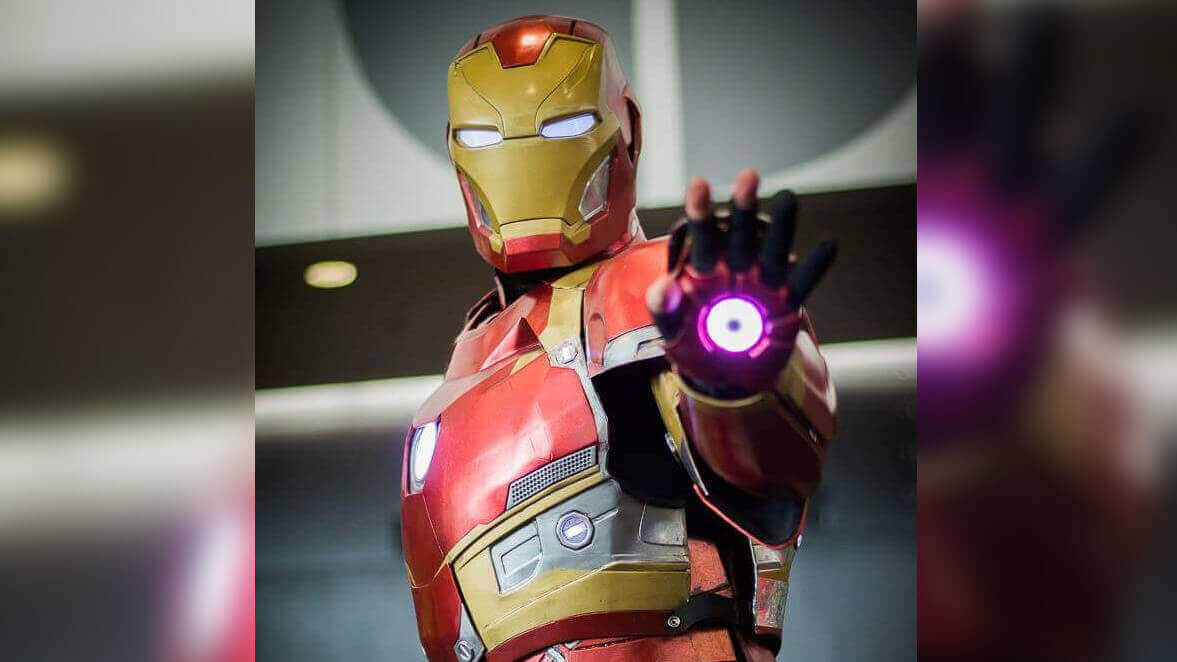 Iron Man Costume 3D Printed